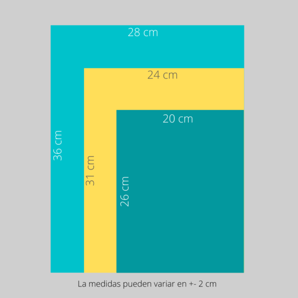 medidas album vertical